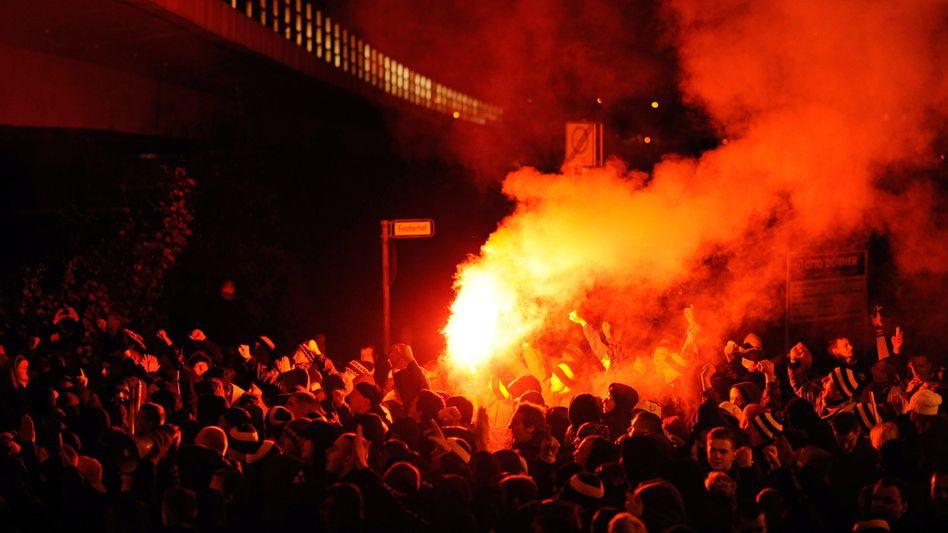 Dynamo-Anhänger: Krawalle in Hannover