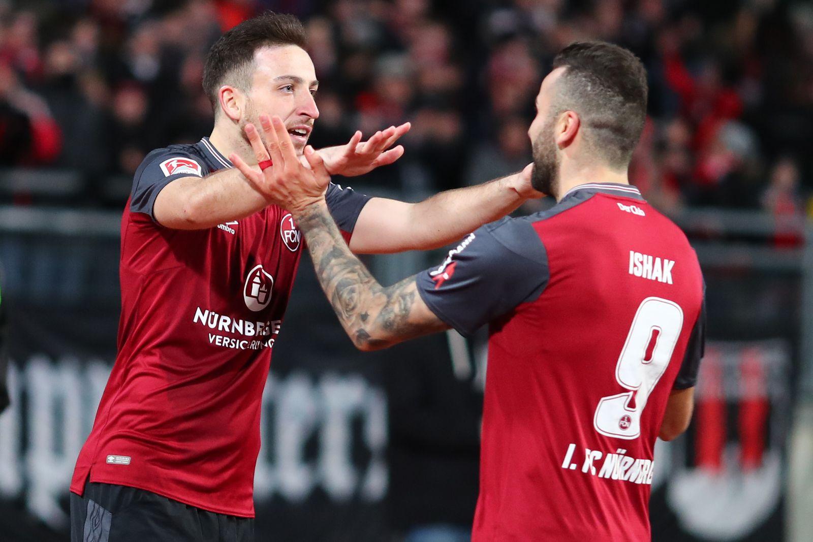 1. FC Nürnberg - Erzgebirge Aue