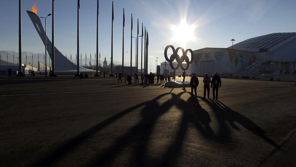Olympia-Park in Sotschi: Möglicherweise erster Dopingfall