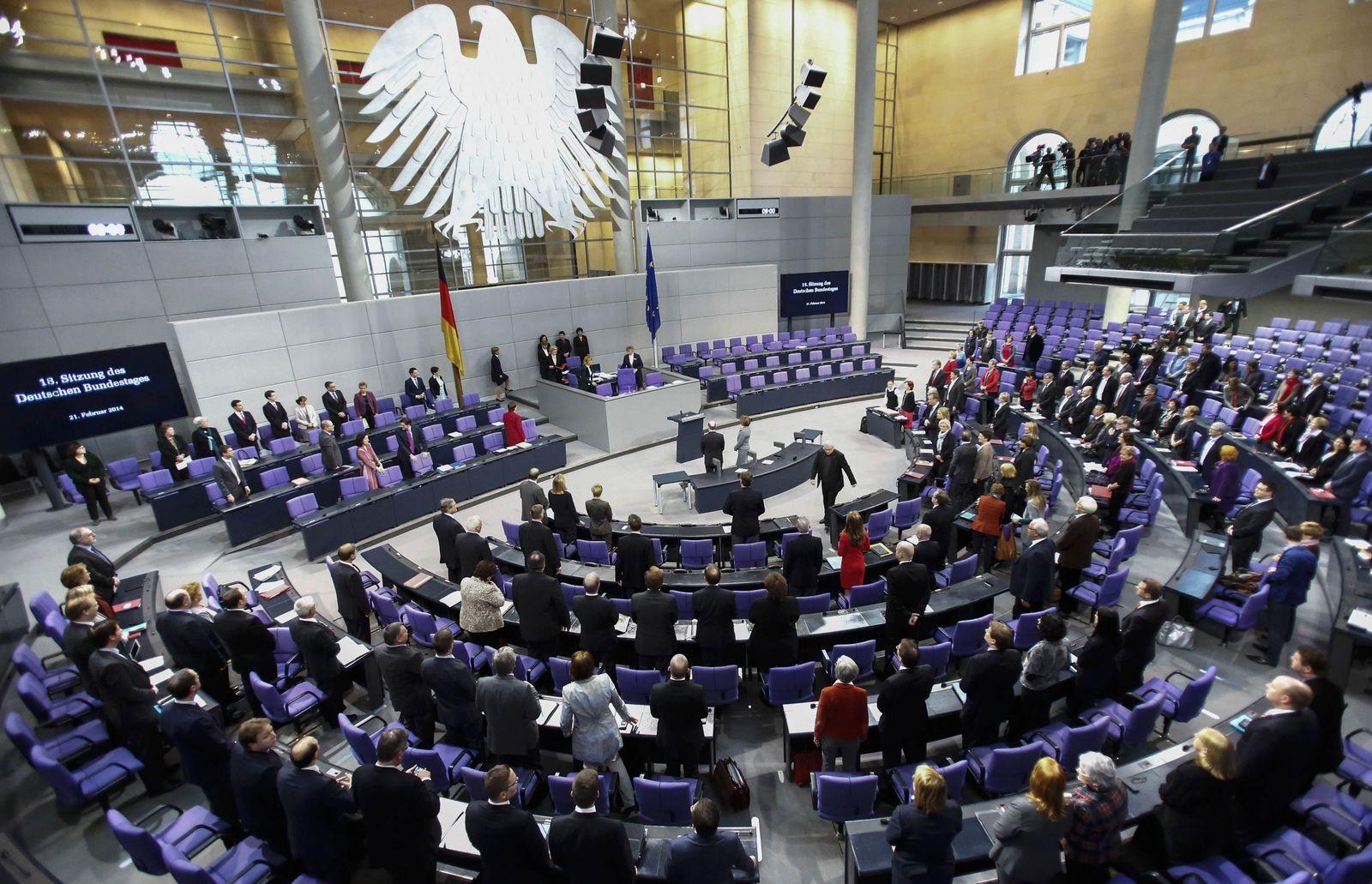 Deutscher Bundestag / Innenansicht