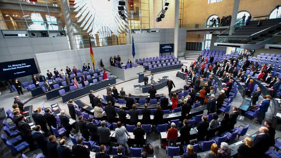 """Bundestag: """"Gehen davon aus, dass das Parlament zustimmen muss"""""""