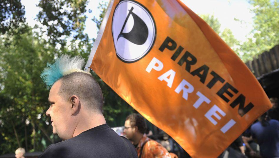Aktion der Piratenpartei in Berlin: Überraschungssieger in der Hauptstadt