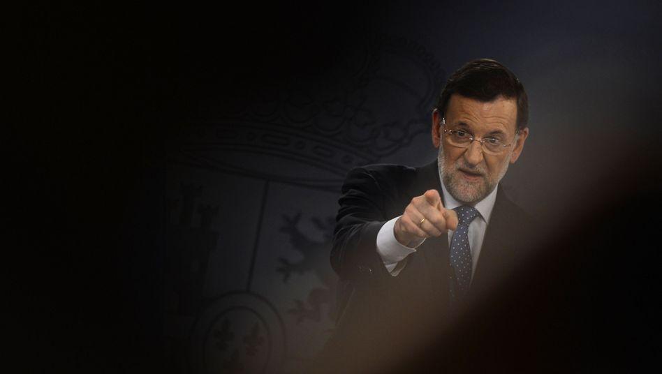 """Spanischer Ministerpräsident Rajoy: """"Die beste Entscheidung im Interesse der Spanier"""""""