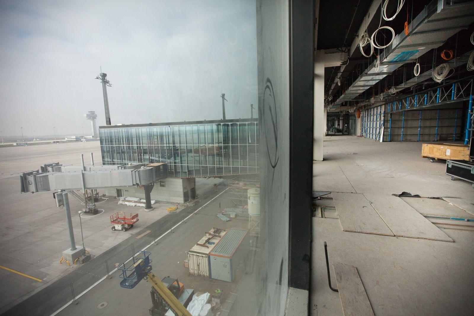 Flughafen Berlin Brandenburg (BER) / Baustelle