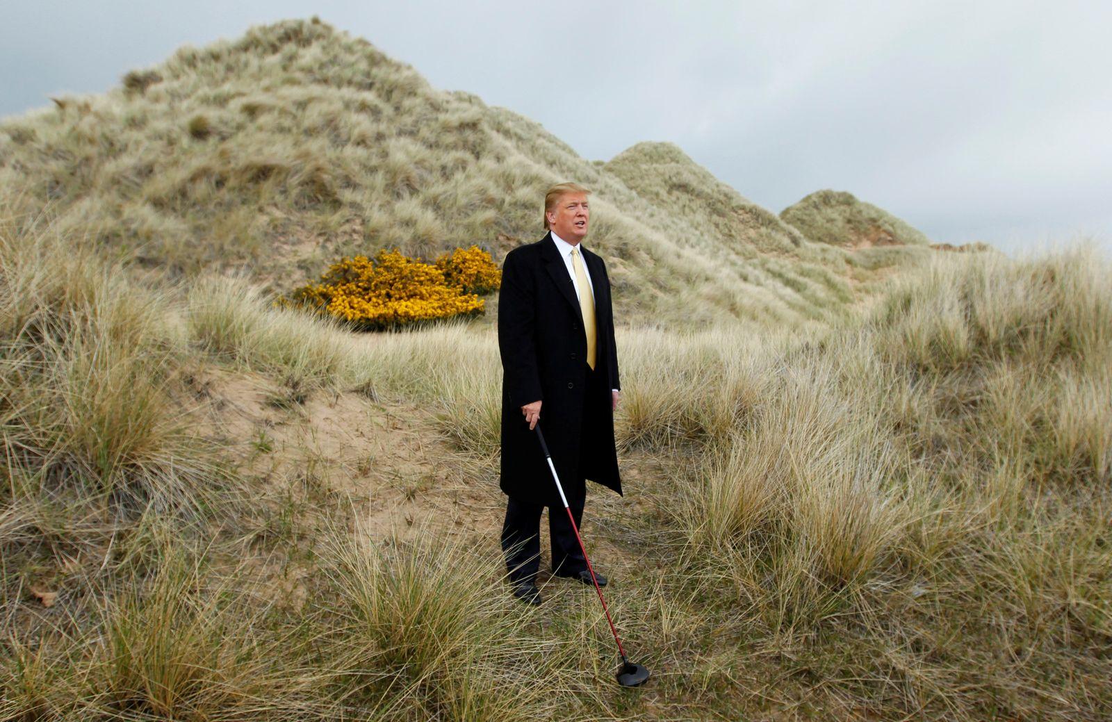 Trump/ Interessenkonflikt/ Golf Aberdeen