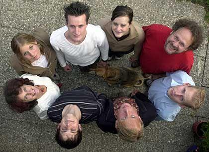 Patchwork-Familie: Kinder von verschiedenen Lebensabschnittspartnern
