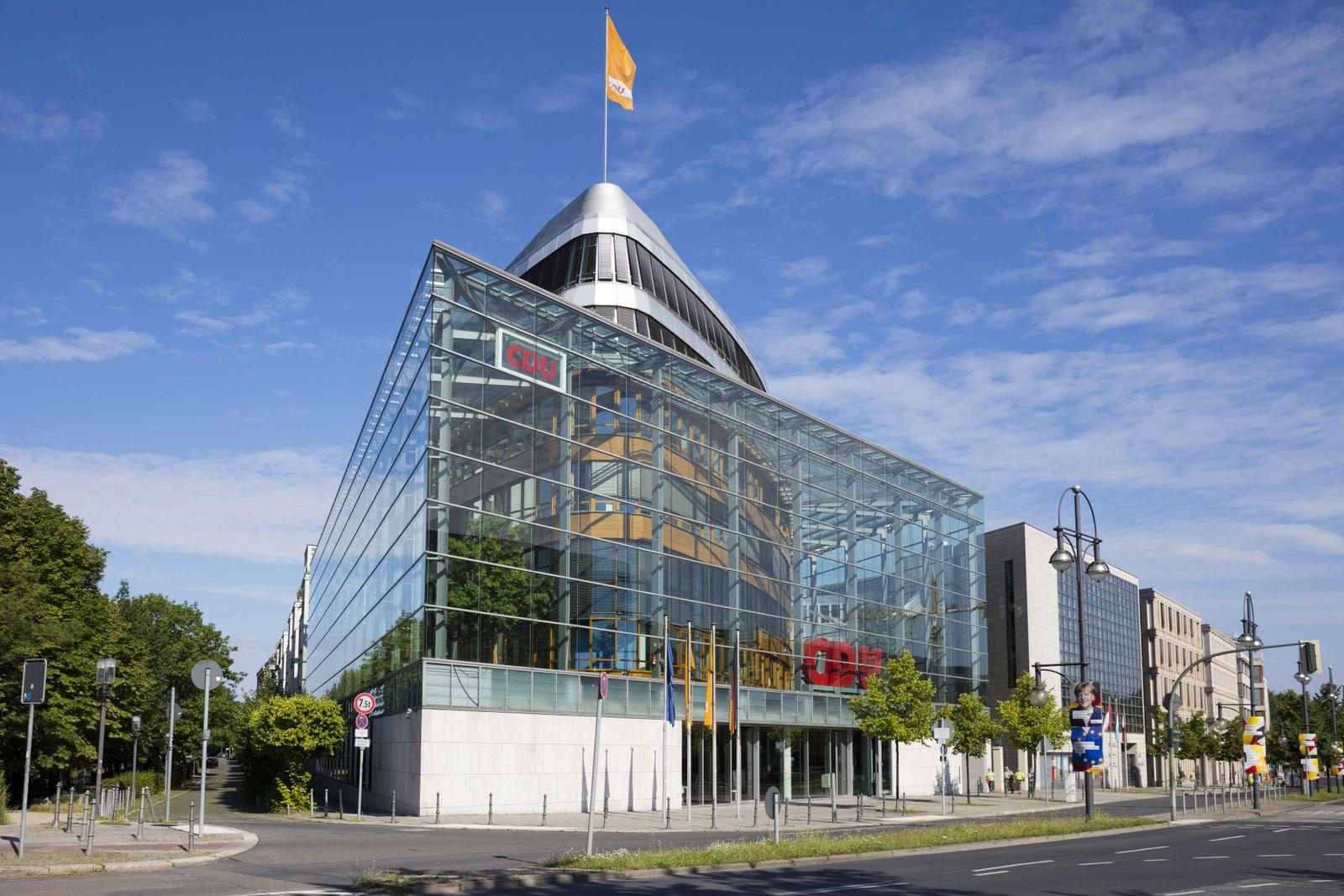 EINMALIGE VERWENDUNG Konrad-Adenauer-Haus
