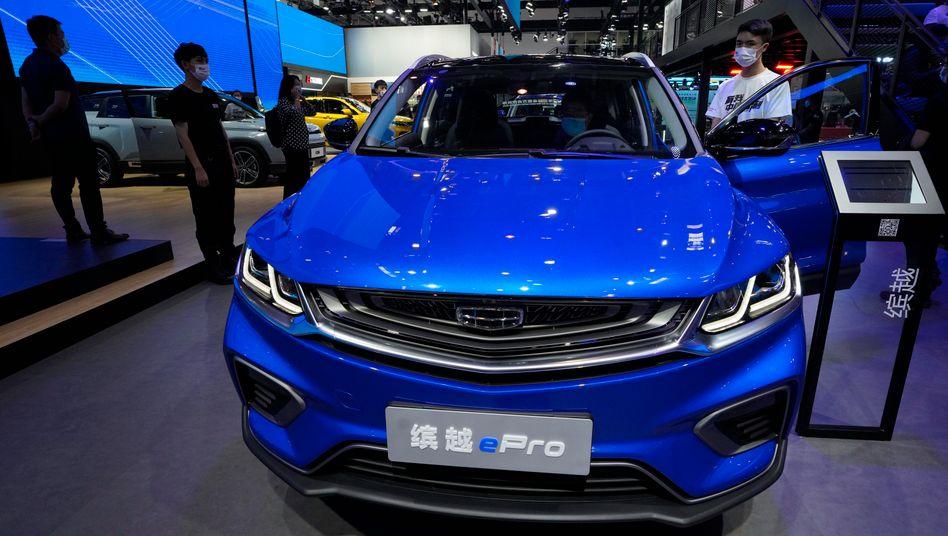 Plug-in-Hybrid von Geely: Der chinesische Autohersteller schließt sich mit dem Techriesen Baidu zusammen