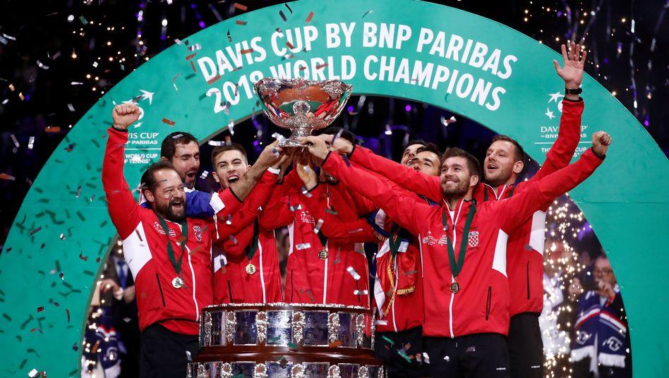 Davis-Cup-Sieger Kroatien