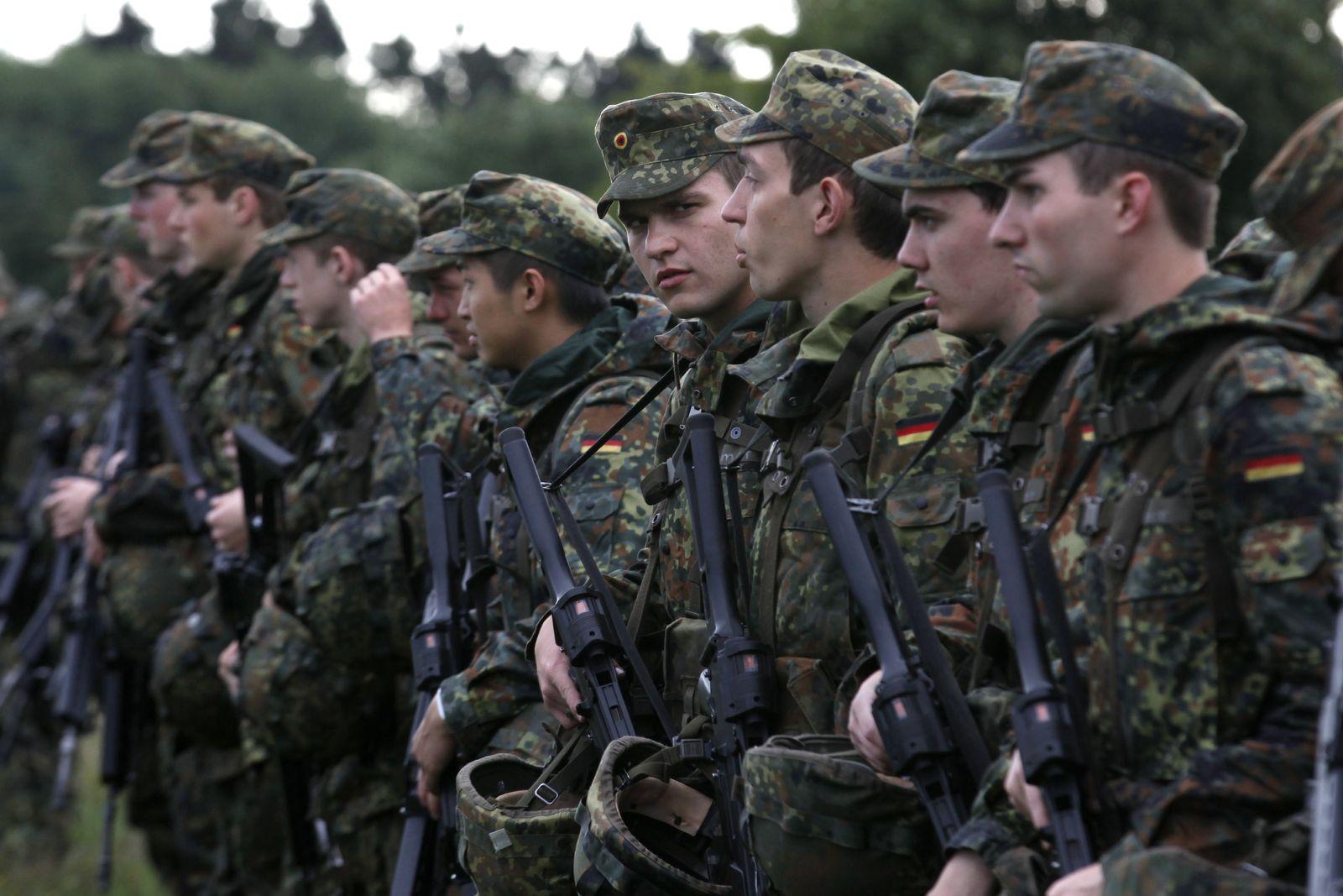 NICHT VERWENDEN Bundeswehr / Wehrdienstleistende