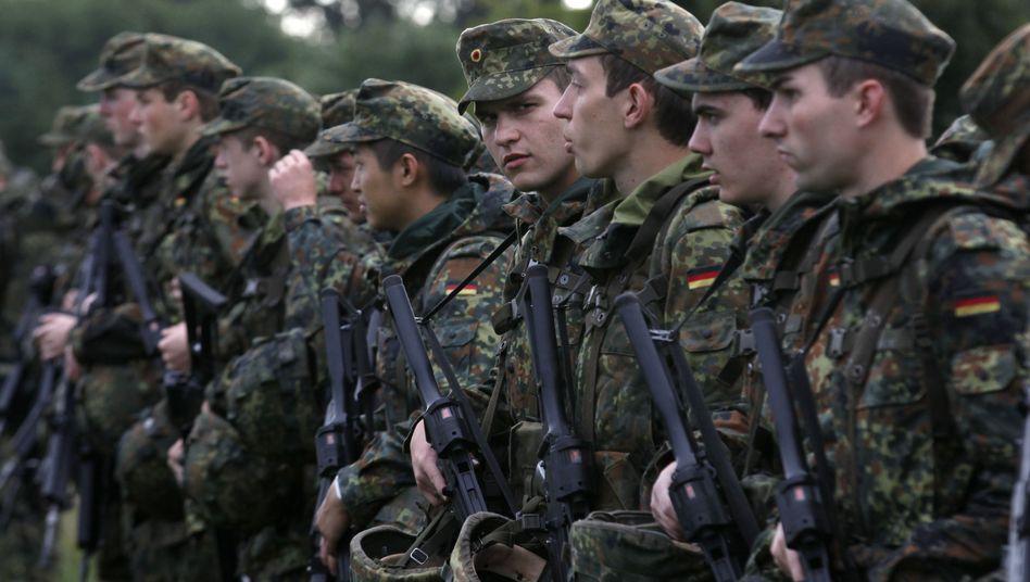 Sparen bei der Bundeswehr: Weniger Soldaten heißt auch weniger Standorte