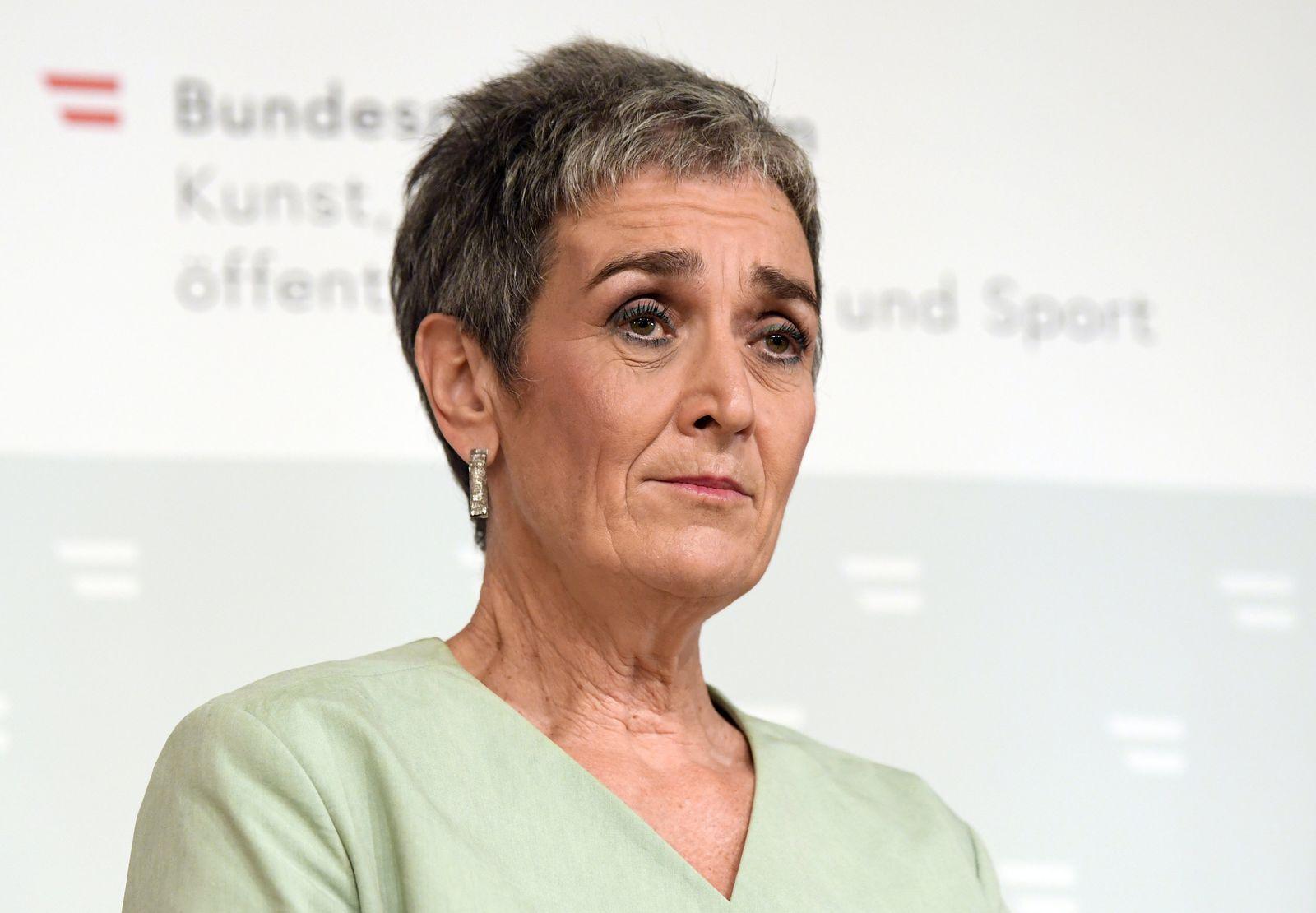 Coronavirus - Österreichs Kulturstaatssekretärin Rücktritt