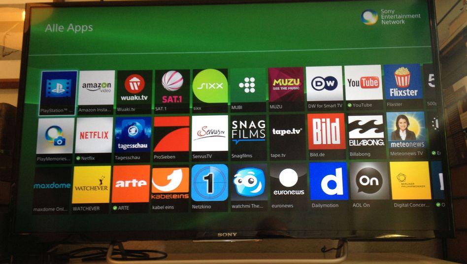 Fernseher mit Apps: Ohne läuft nichts