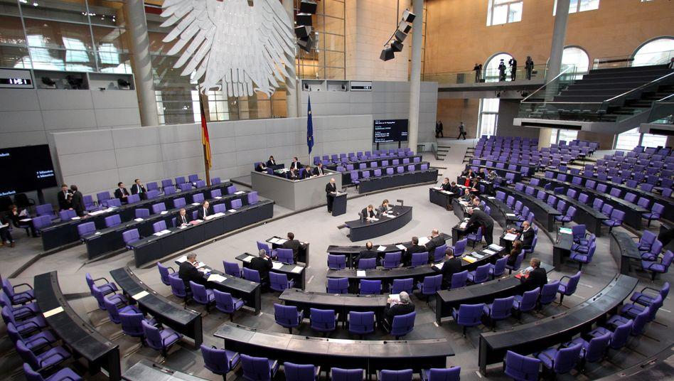 Bundestagssitzung (Archivfoto)