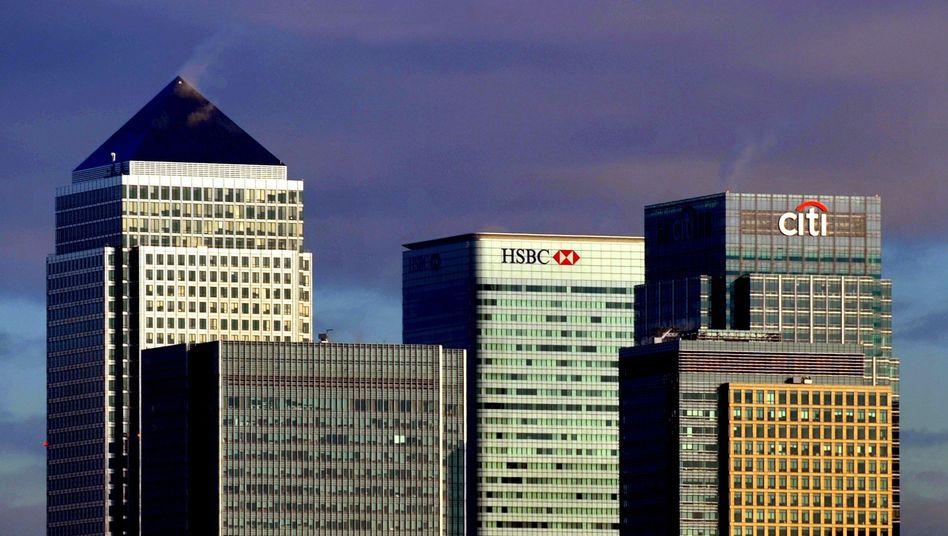 Bankenviertel in London: Warnung vor ungewollten Nebenwirkungen