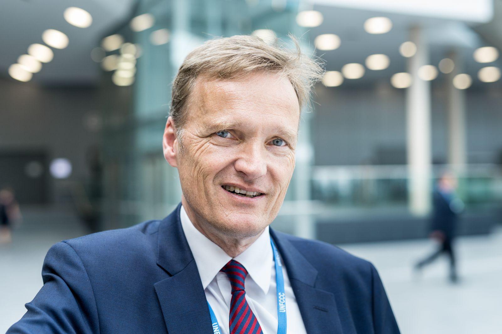 EINMALIGE VERWENDUNG Klimakonferenz/ Karsten Sach