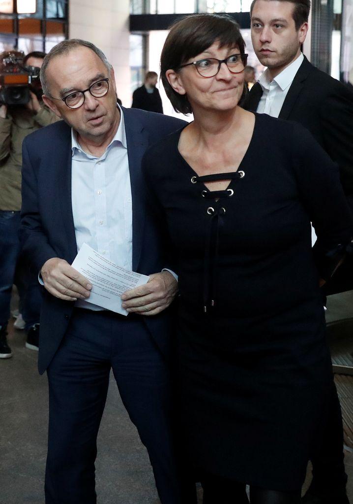 Norbert Walter-Borjans und Saskia Esken: Gefahr der Spaltung war zu groß