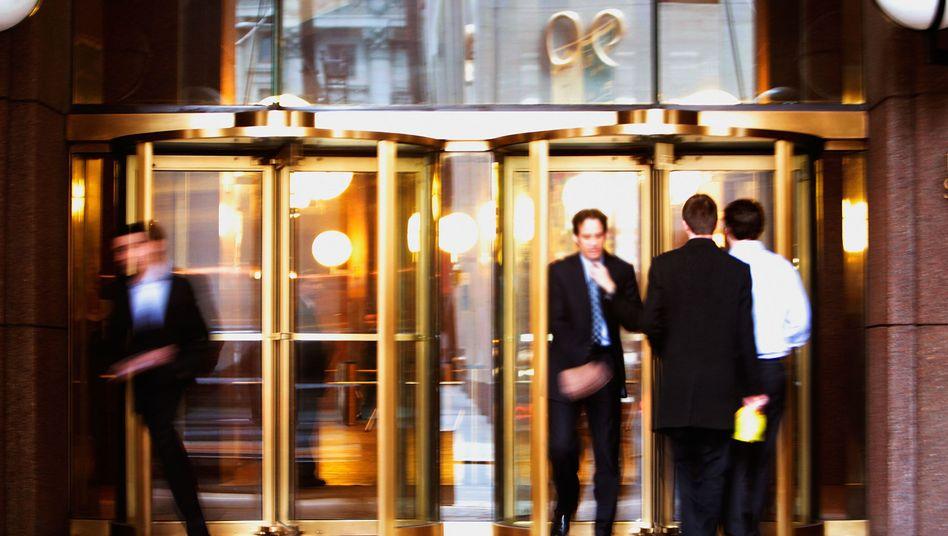 Goldman Sachs in New York: Investmentbanking zählt zu den stressigsten Finanzjobs