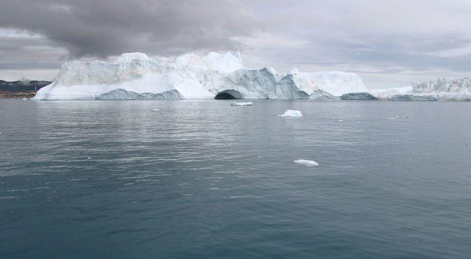 Eisberg vor Grönland: Sich selbst verstärkende Entwicklung