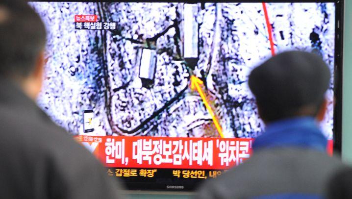 Nordkoreas Atomtest: Zündung in der Tiefe