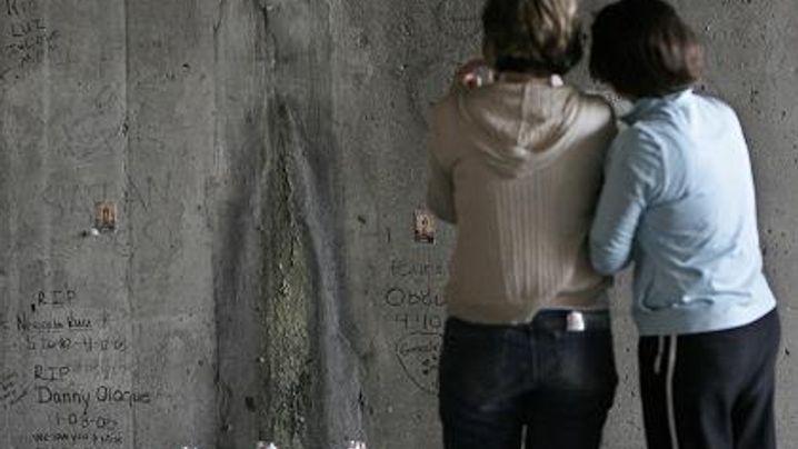 Chicago: Marien-Erscheinung an Betonwand