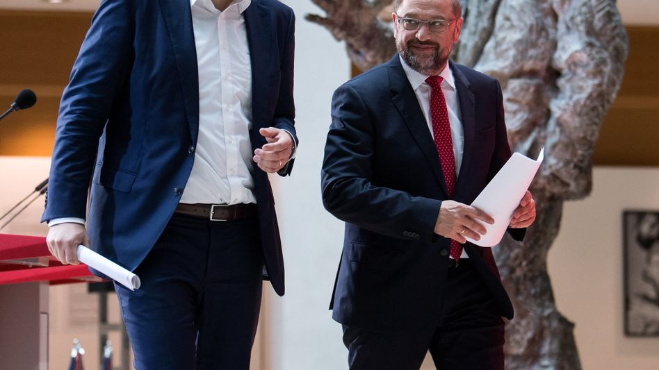 Lars Klingbeil, Martin Schulz