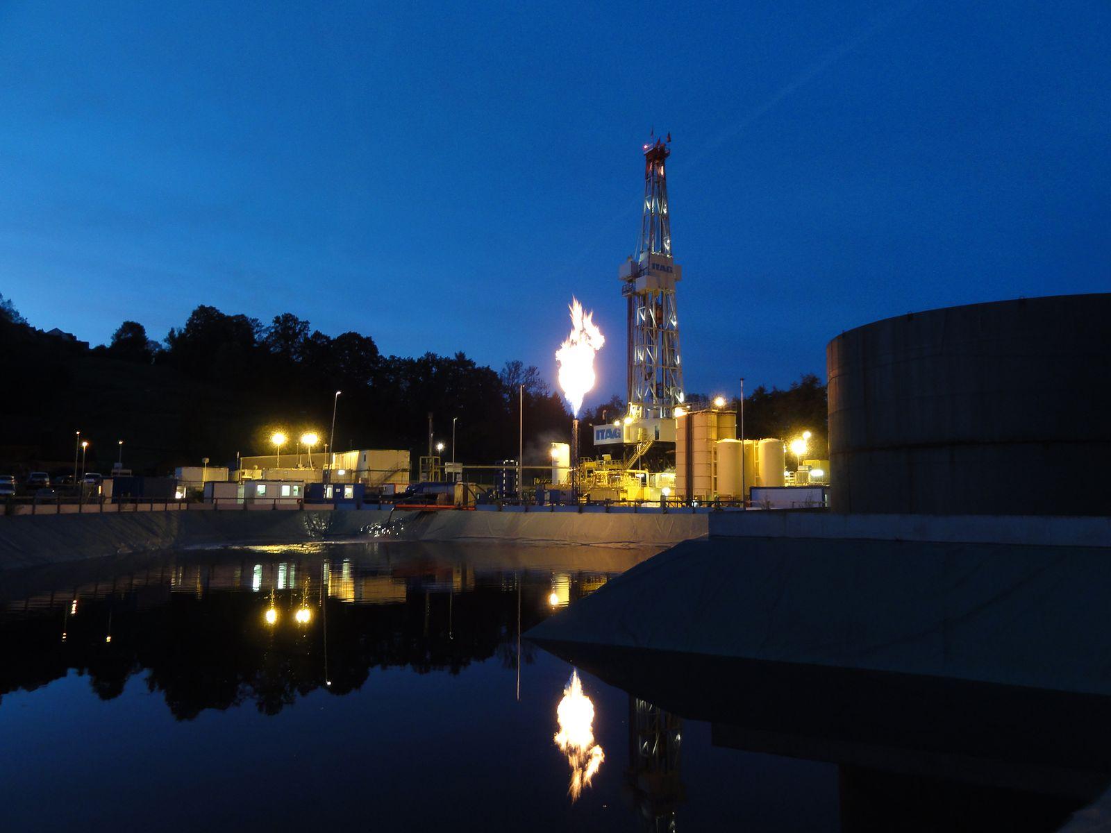 EINMALIGE VERWENDUNG Wissenschaft/ St. Gallen/ Kraftwerksprojekt/ Geothermie