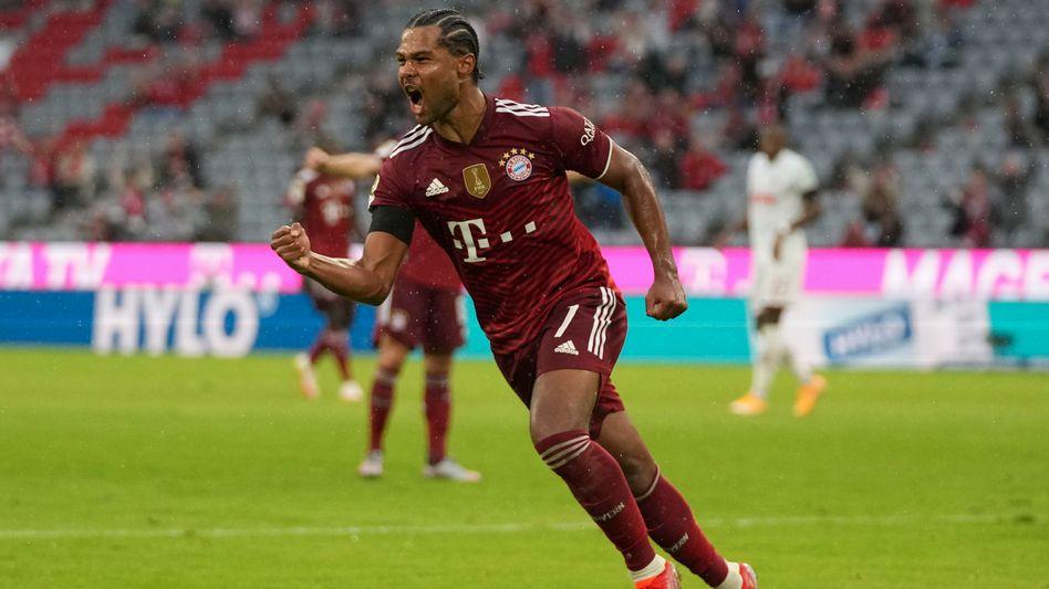 Serge Gnabry vom FC Bayern