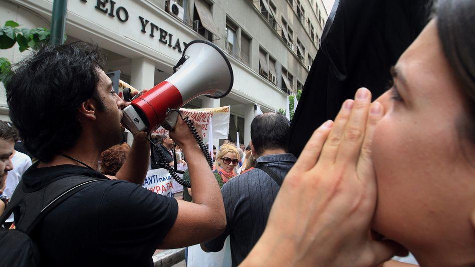 Proteste in Athen: Regierung schließt weitere Sparmaßnahmen aus