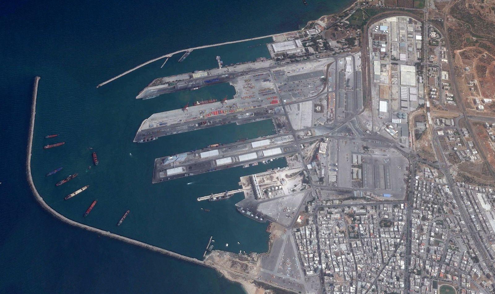 EINMALIGE VERWENDUNG Syrien/ Tartus/ Hafen