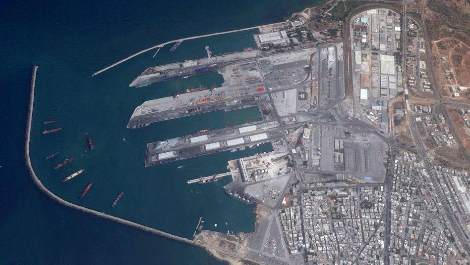 Hafen von Tartus: Zeitung berichtet von 1700 russischen Soldaten