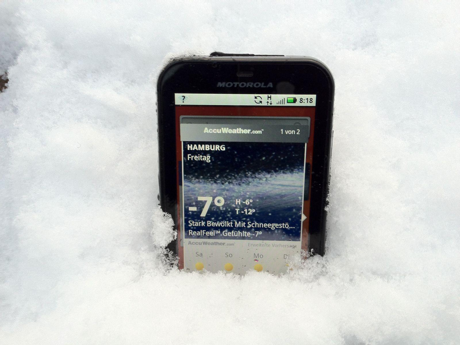 Motorola / Outdoor-Handy / Defy