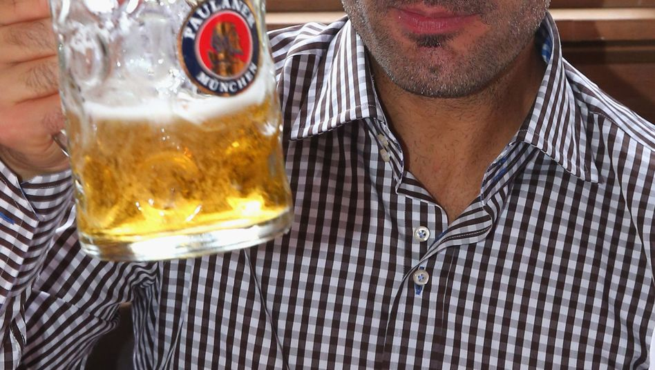 """Bayern-Trainer Guardiola: """"Kleine, kalte Biere"""""""