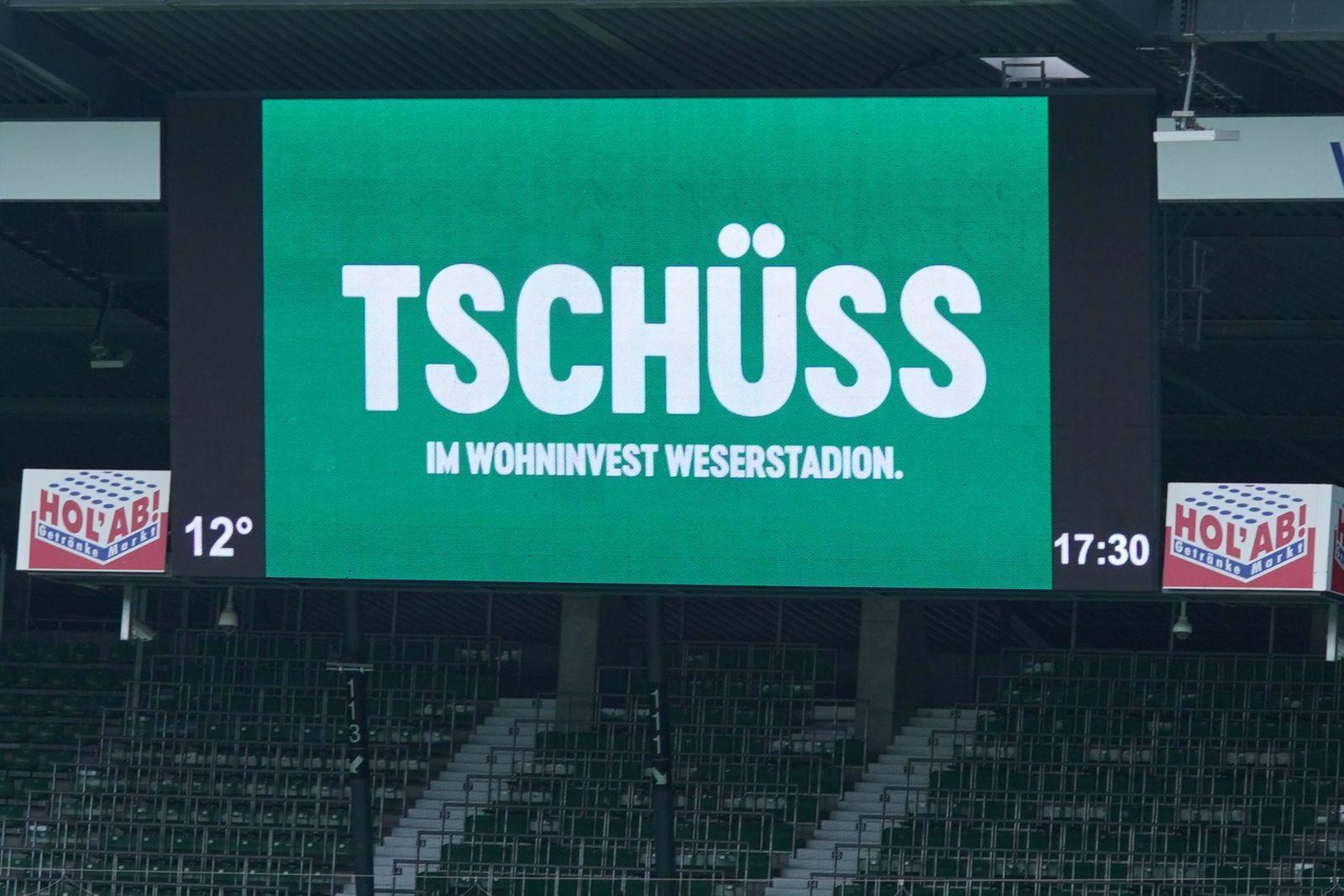 GER, 1.FBL, SV Werder Bremen vs Borussia Moenchengladbach / 22.05.2021, wohninvest Weserstadion, Bremen, GER, 1.FBL, SV