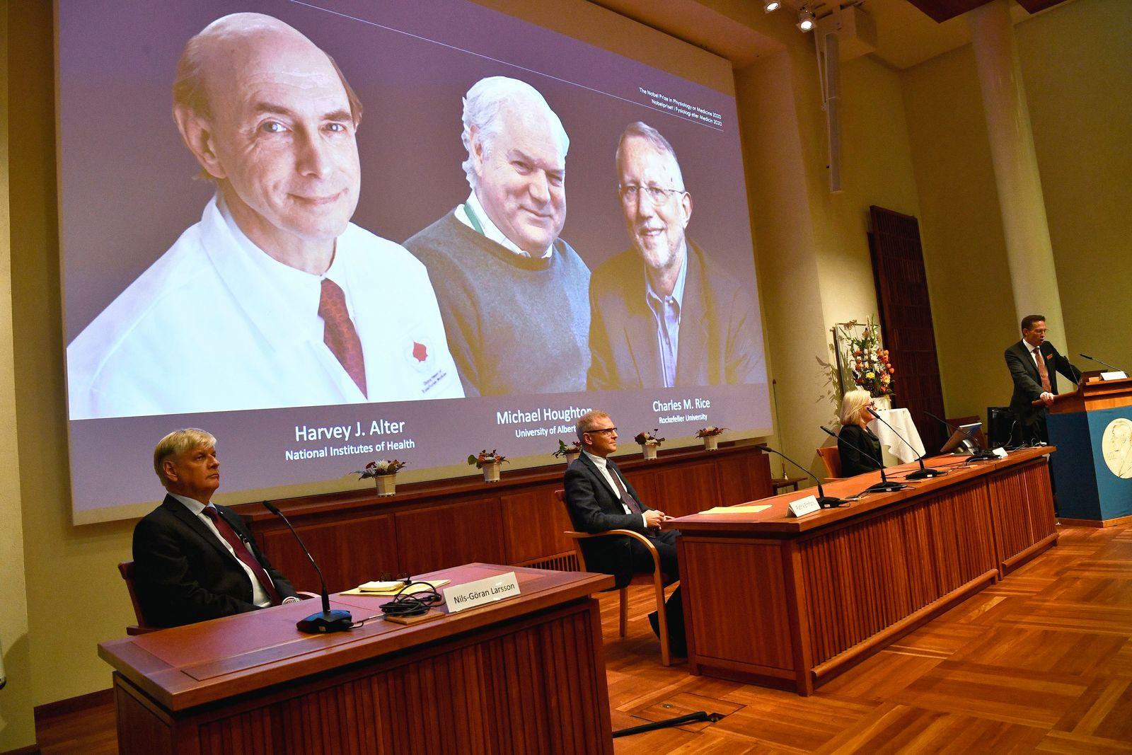 Medizin-Nobelpreis an Entdecker von Hepatitis-C-Virus