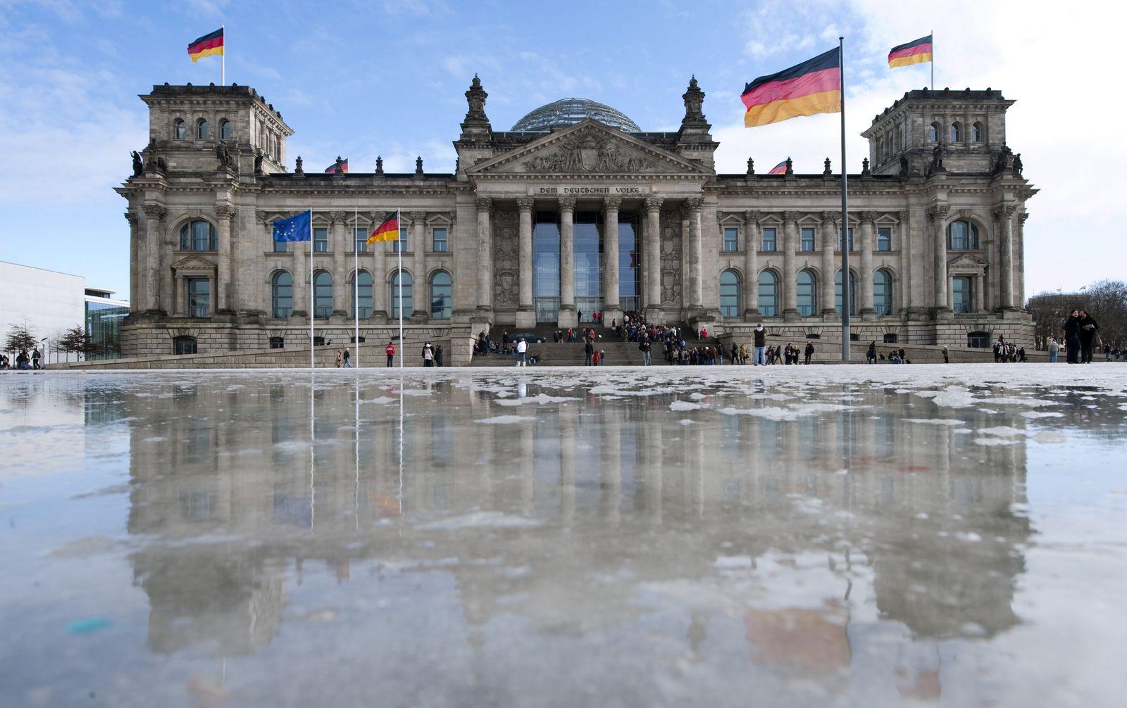 Tauwetter um den Reichstag