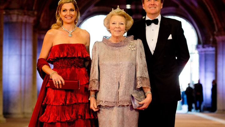 Beatrix geht, Willem-Alexander übernimmt: Festessen im Rijksmuseum