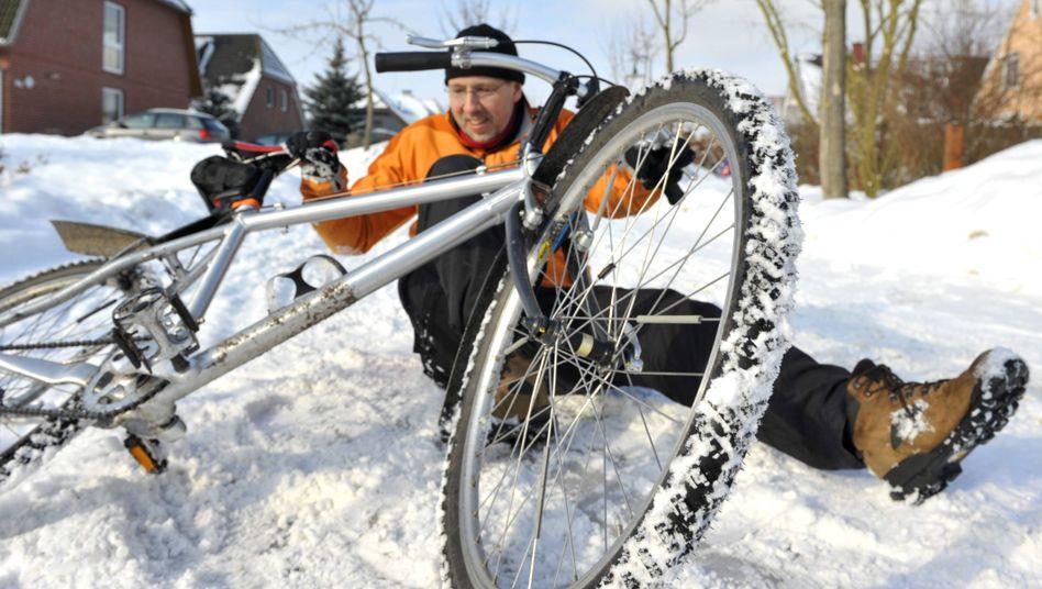 Radfahren im Winter - auf der Suche nach dem perfekten Streumittel