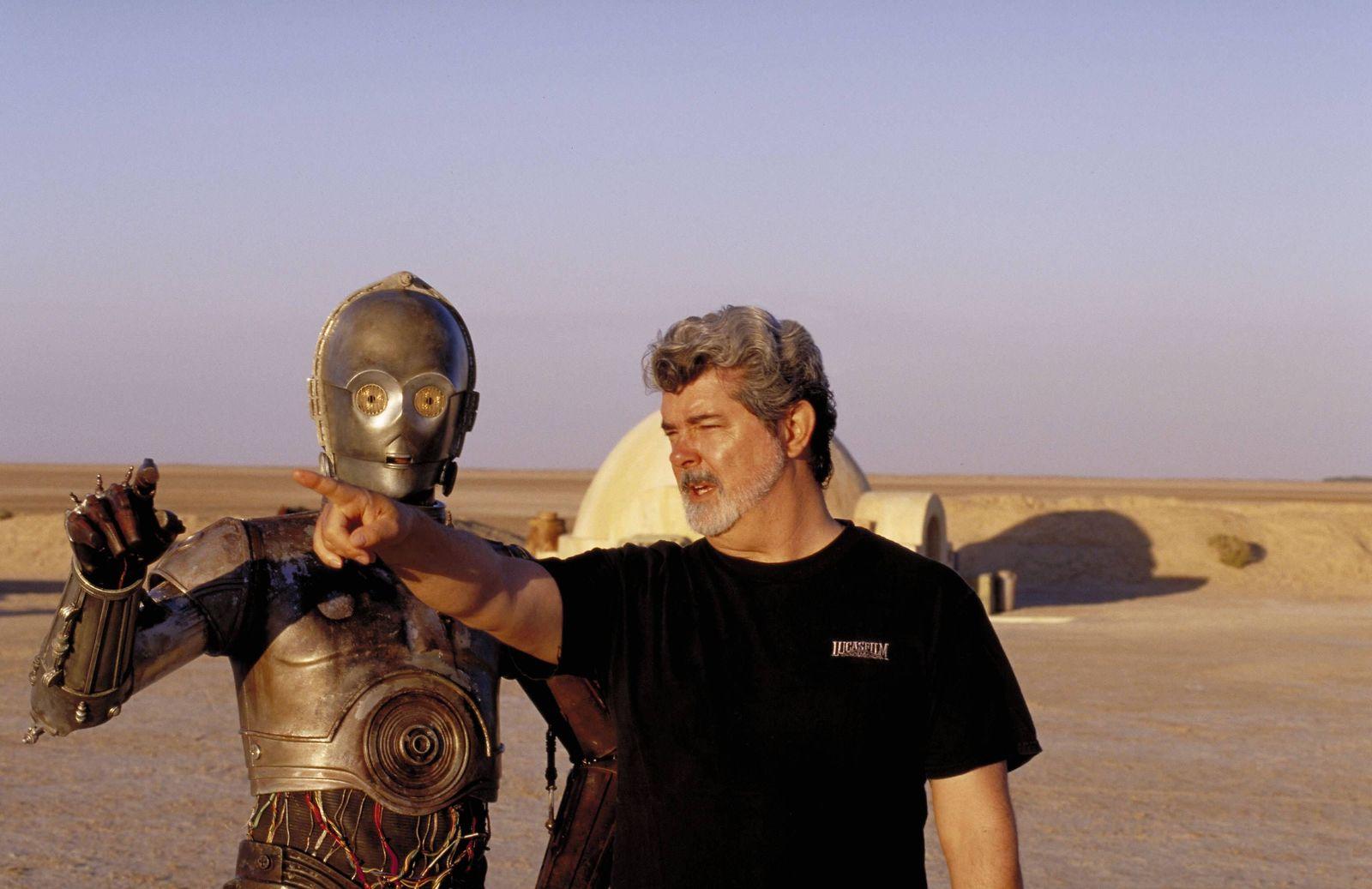 EINMALIGE VERWENDUNG George Lucas/ Star Wars/ Set