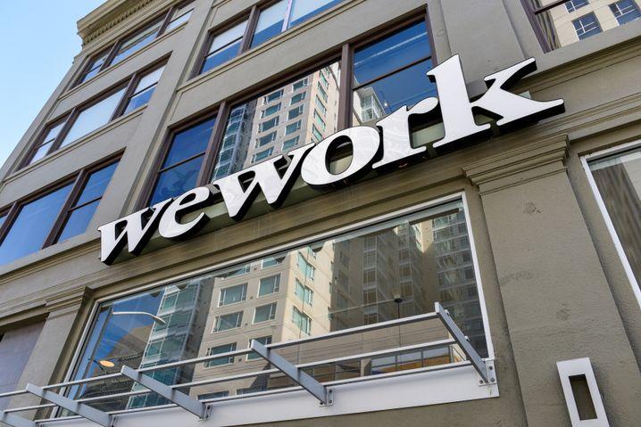 WeWork-Logo in San Francisco