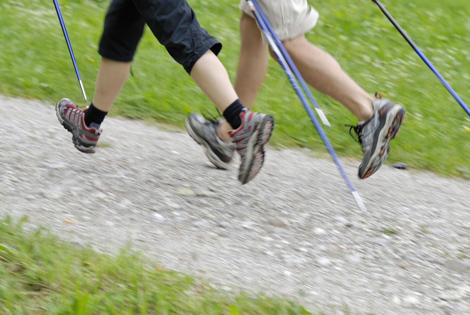 EINMALIGE VERWENDUNG Nordic Walking