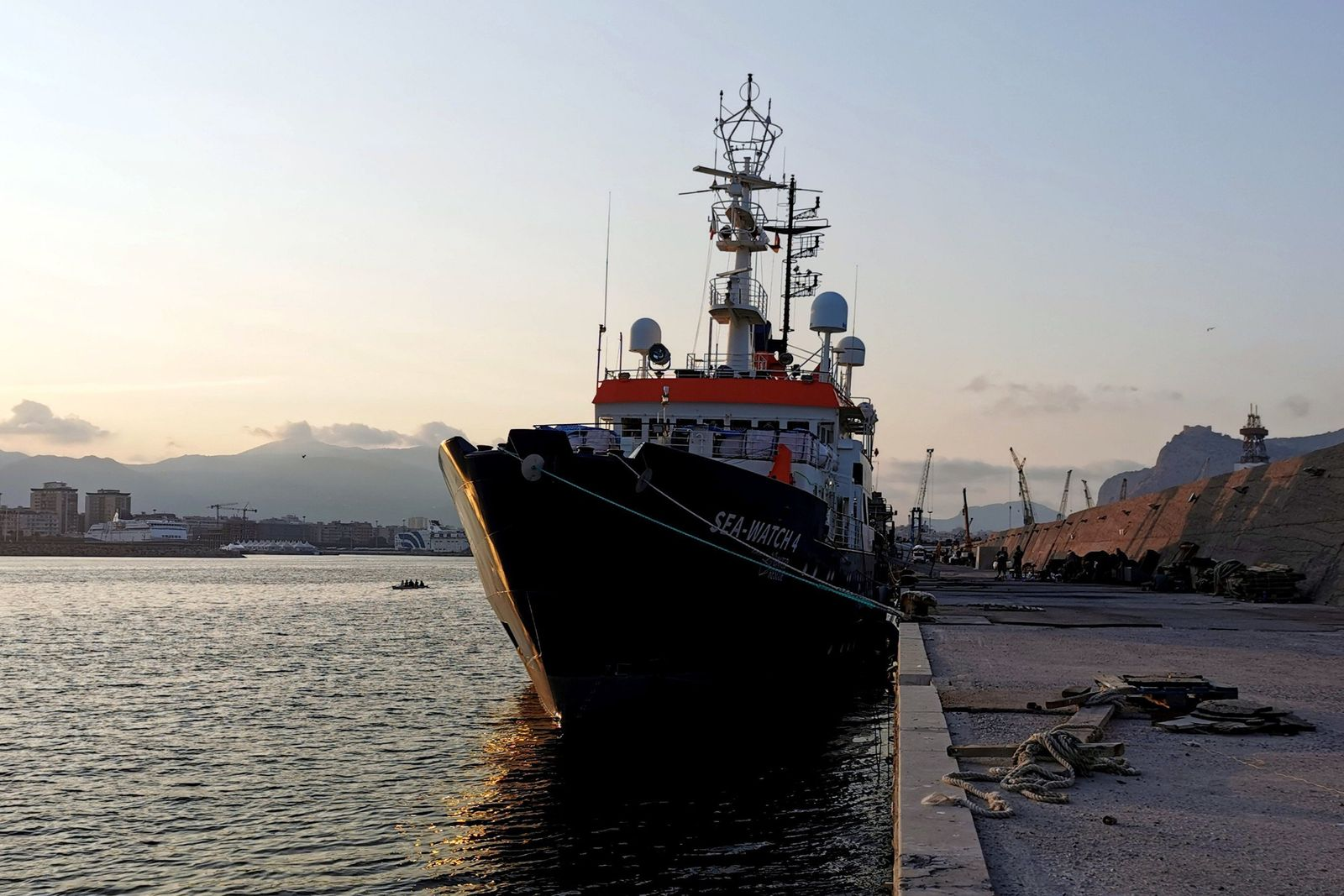 Rettungsschiff «Sea-Watch 4» in Palermo festgesetzt