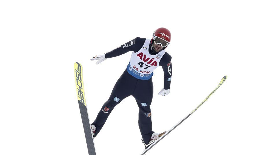 Markus Eisenbichler wurde nach dem ersten Sprung disqualifiziert
