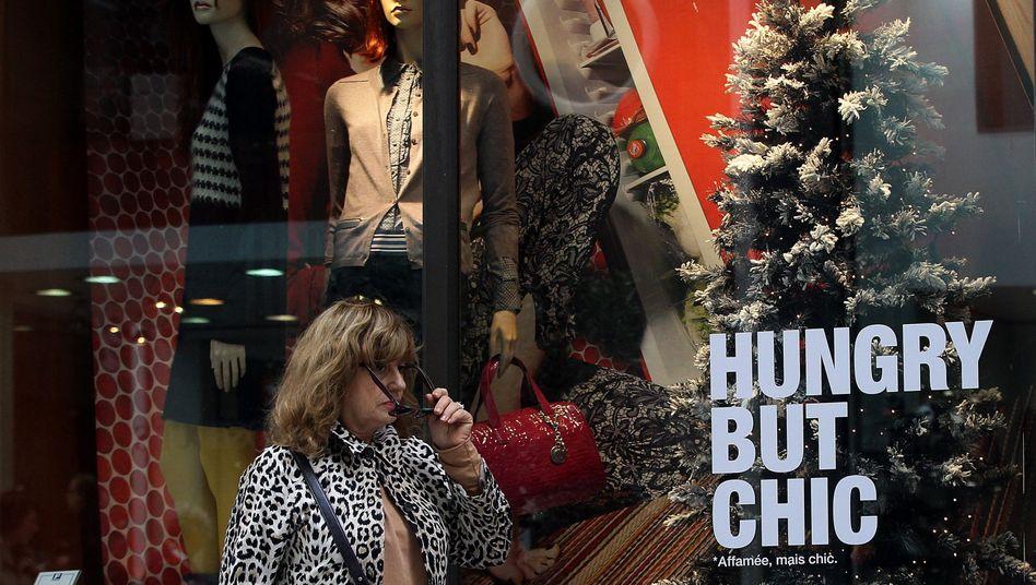Shoppingmeile in Athen: Griechenland hofft auf die Hedgefonds