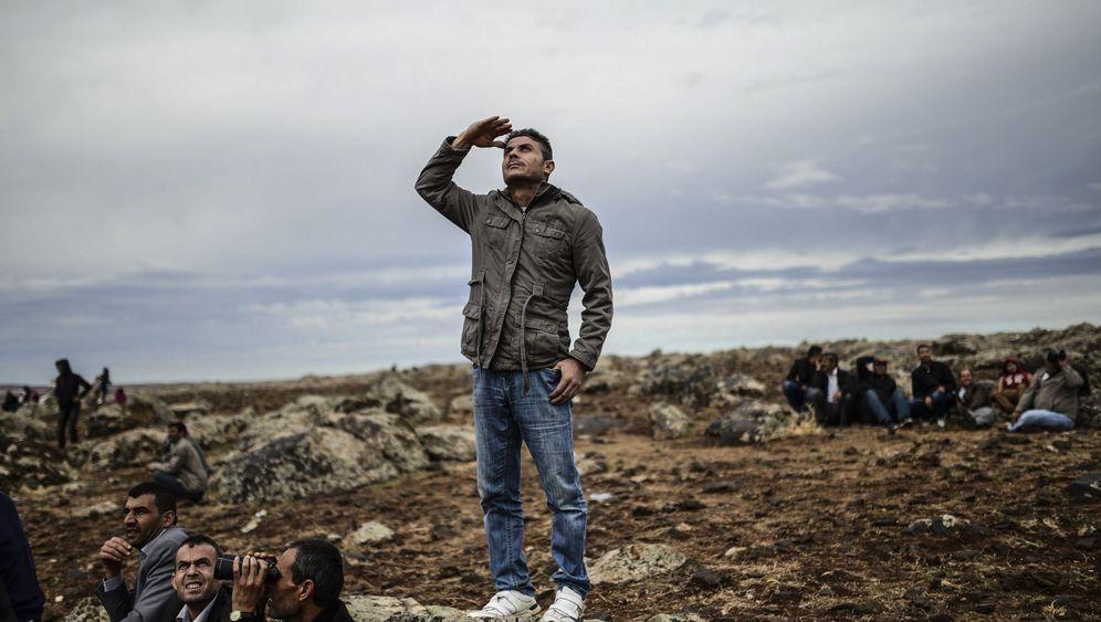 Kobane: Hilfe aus der Luft