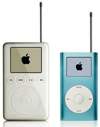"""Gibt's gar nicht: iPods haben keine Antennen, und Podcasting ist """"Rundfunk"""" per Internet-""""Ausstrahlung"""""""
