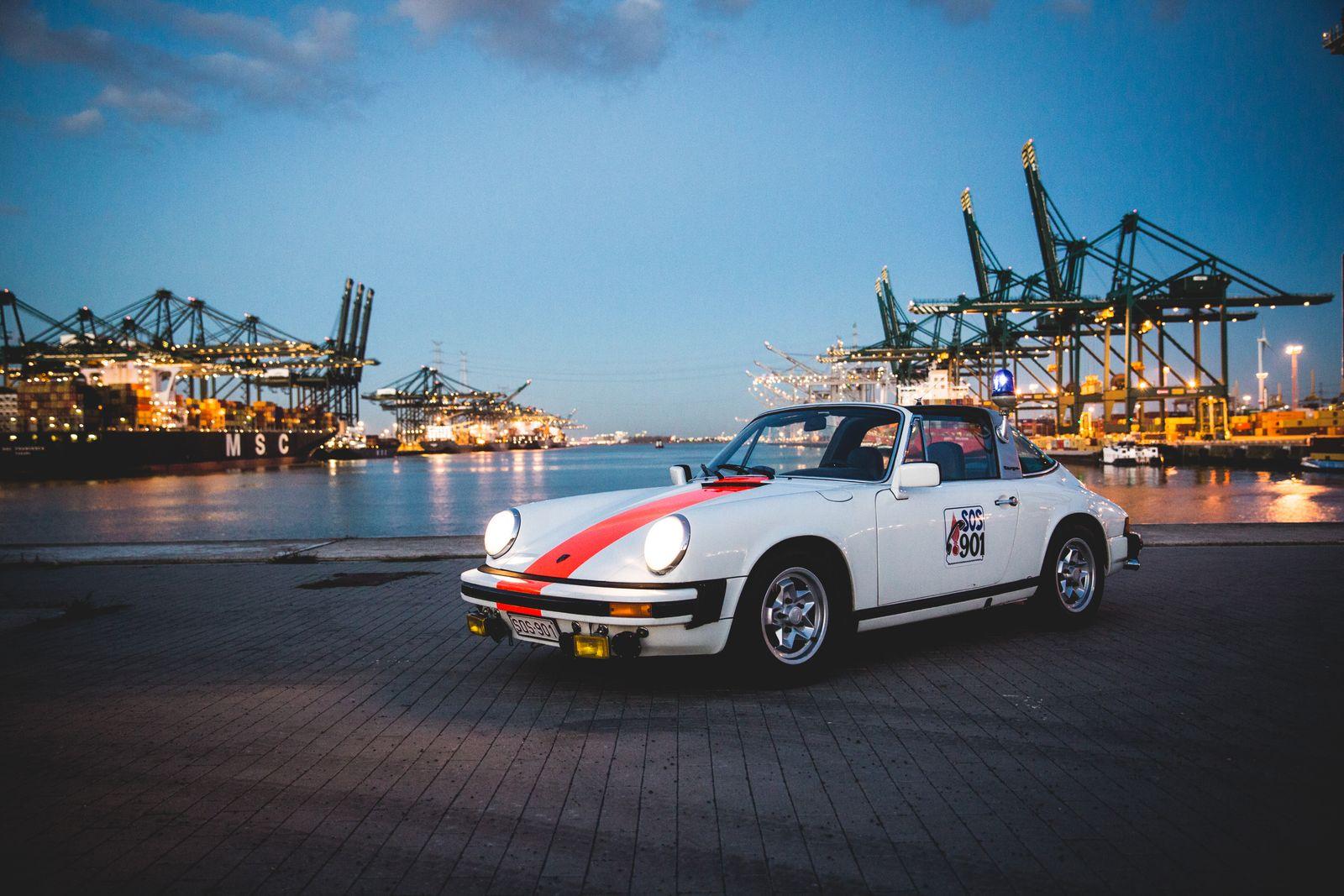 1976 Porsche 911 Carrera 2.7 MFI Targa Belgian Gendarmerie