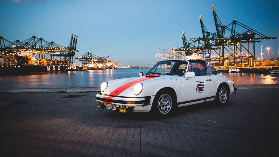 Die Porsche 911 der belgischen Gendarmerie gehörten zu den schnellsten Polizeiwagen der Welt