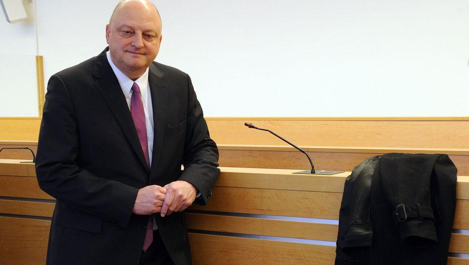 Olaf Glaeseker im Landgericht Hannover: Soll kostenlos Urlaub gemacht haben