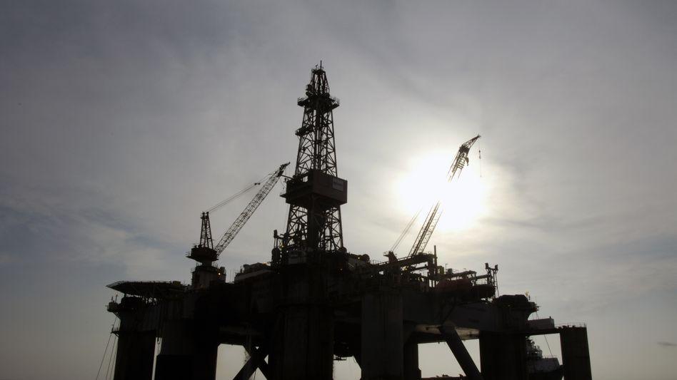 Ölplattform vor der Küste Angolas: Goldrausch in der Tiefsee